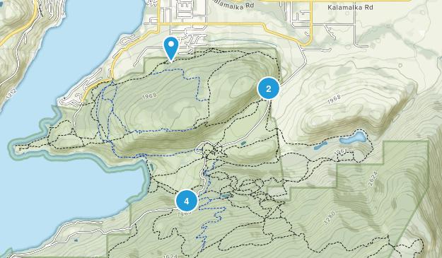 Kalamalka Lake Provincial Park Map