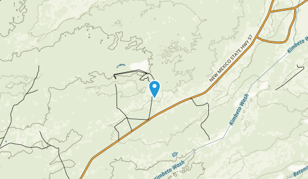 Ah-shi-sle-pah Wilderness Map