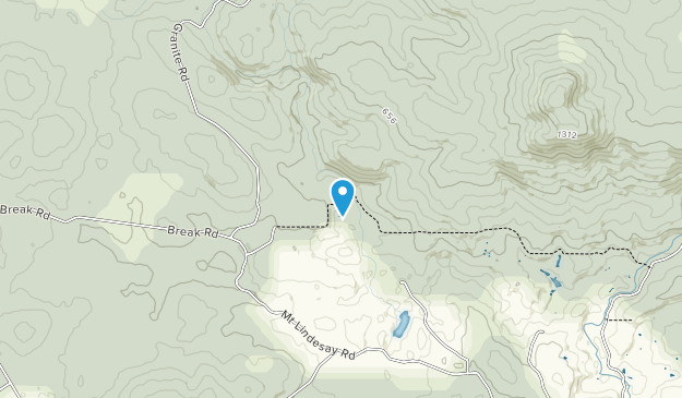 Mount Lindesay National Park Map