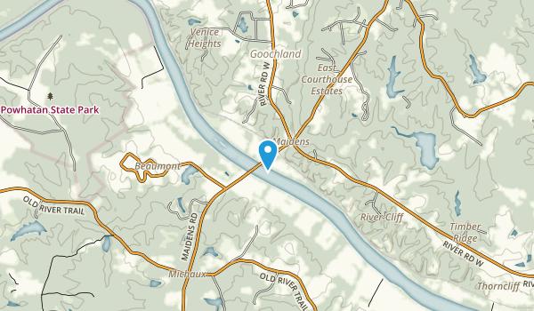 Tucker Park Map