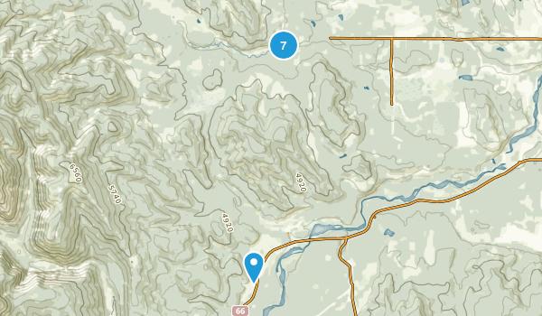 West Bragg Creek Provincial Recreation Area Map