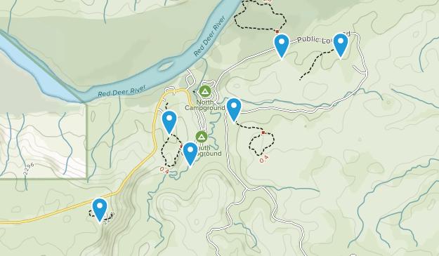 Dinosaur Provincial Park Map