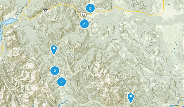 Sibbald Lake Provincial Recreation Area Map