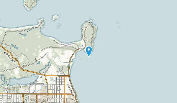 Presque Isle Park Map