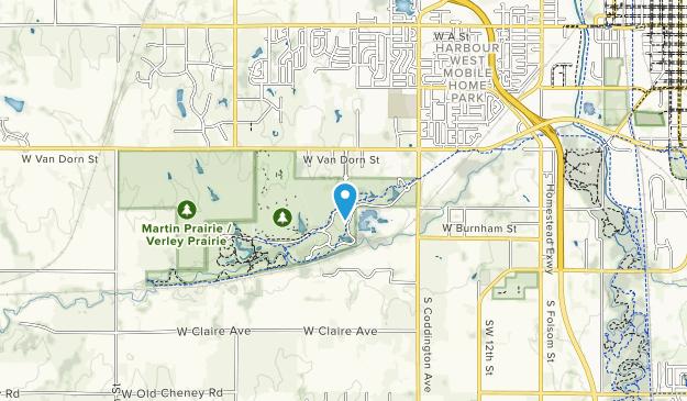 Pioneers Park  Map