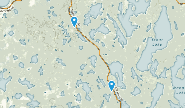 Suomi HIlls Trail System Map