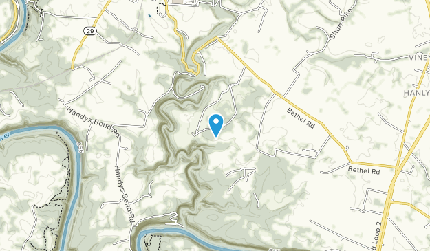 Jessamine Creek Gorge Nature Preserve Map