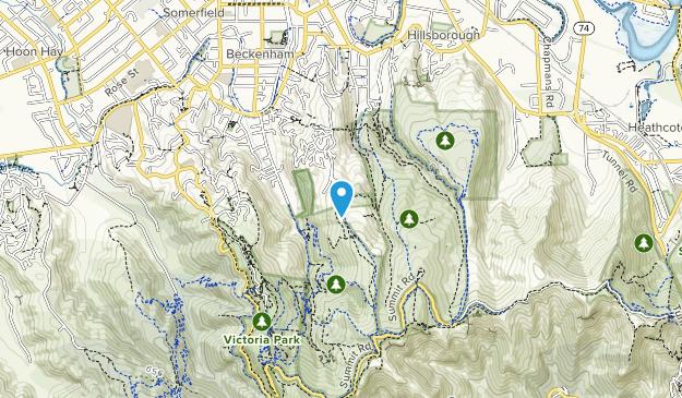 Huia Gilpin Reserve Map
