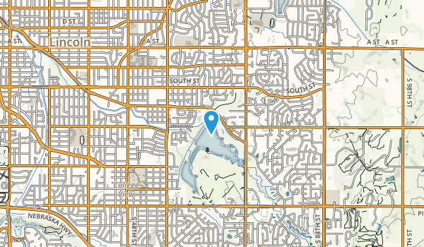 Holmes Lake Park Map