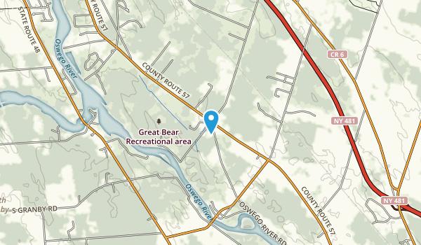 Great Bear Recreational Area Loop Map