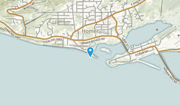 Bishops Beach Park Map