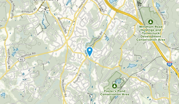 Kendall Pond Conservation Area Map