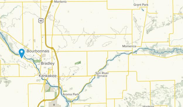 Kankakee River State Park Map