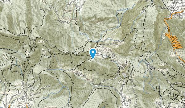 Prealpi Bergamasche Map