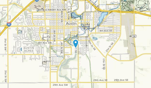 Marcusen Park Map