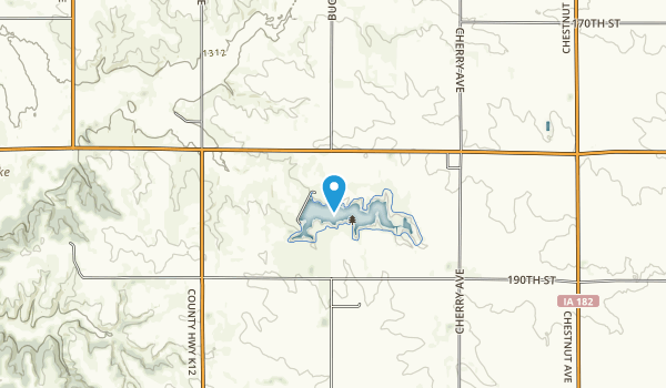 Lake Pahoja Recreation Area Map