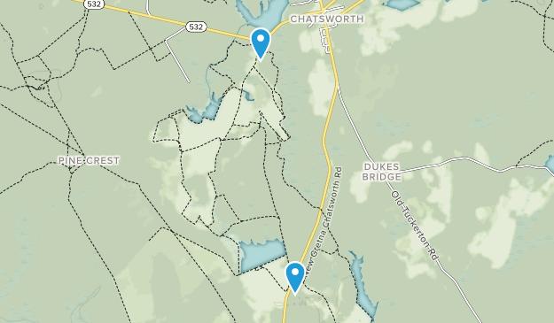 Franklin Parker Preserve Map