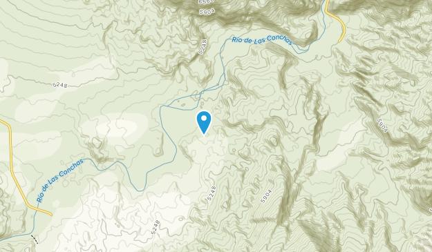 Quebrada de las Conchas Map