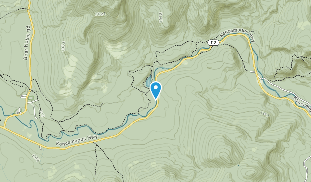 Rocky Gorge Scenic Area Map