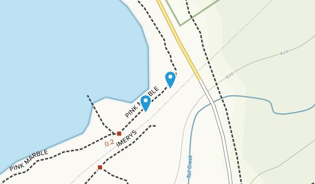 Meades Quarry Map