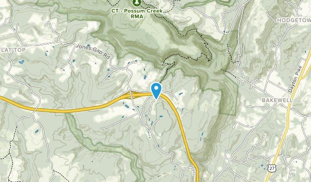 Possum Creek RMA Map