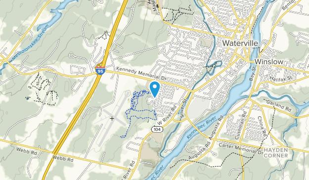 Inland Hospital Trails Map