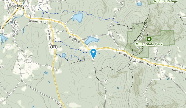 Casalis State Forest Map