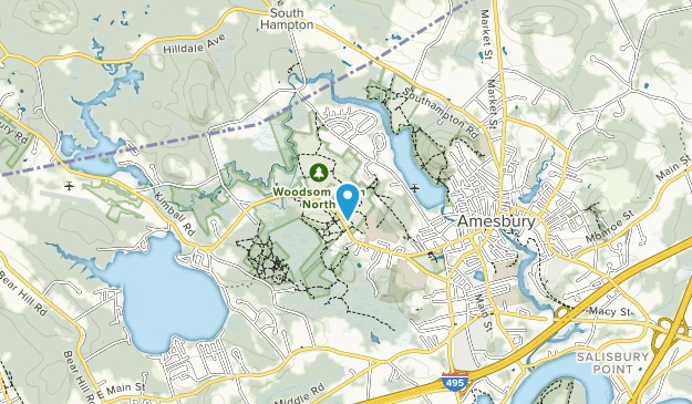 Woodsom Farm North Map