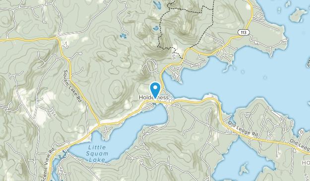 Squam Lakes Natural Science Center Map