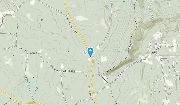 Lincoln Davis Memorial Forest Map