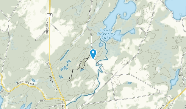 Hawkridge Frontenac Arch Natural Area Map