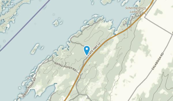 TILT's Crooked Creek Preserve Map