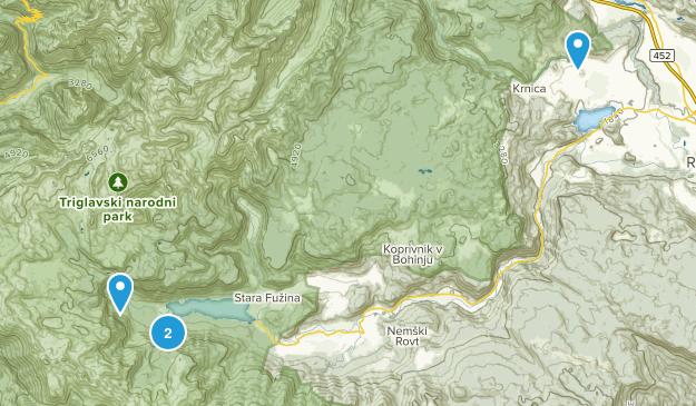 Triglavski Narodni Park Map