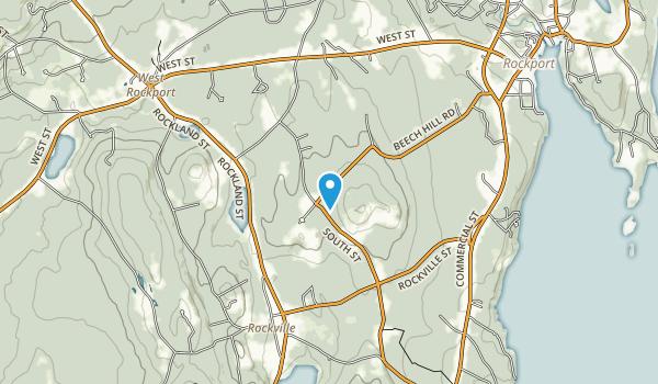 Beach Hill Preserve Map