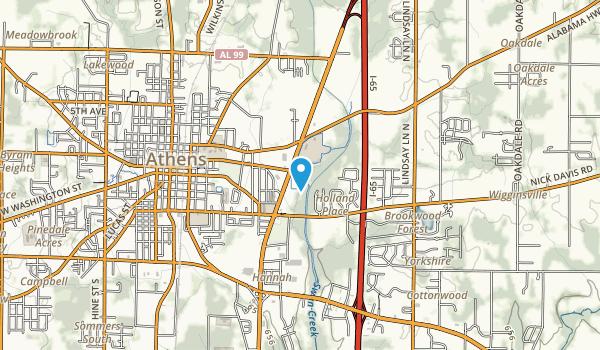 Swan Creek Greenway Map