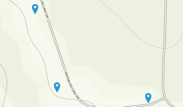 Waterloo Lake Regional Park Map