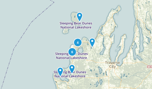 Best Trails In Sleeping Bear Dunes National Lakeshore Michigan - National parks in michigan