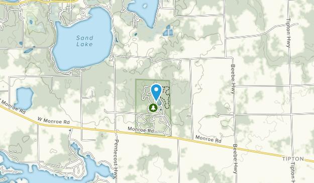 Hidden Lake Park Map