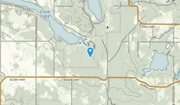 Grass River Natural Area Map