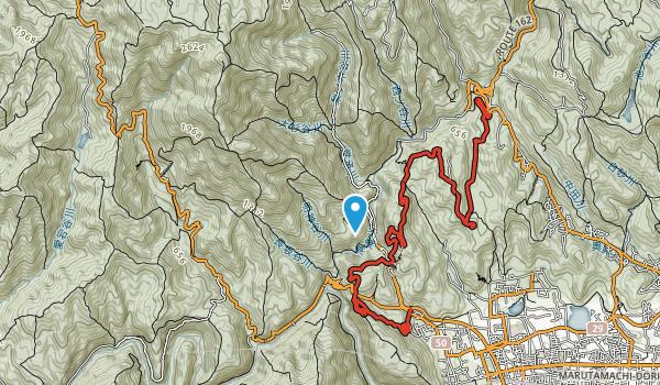 Kiyotaki Trail  Map