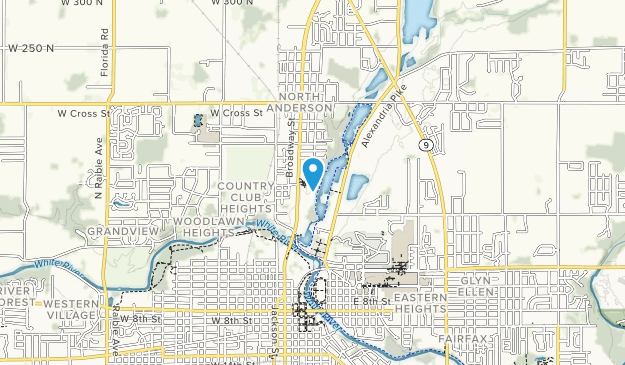 Shadyside Memorial Park Map
