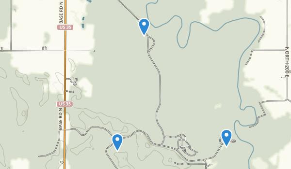 Tippecanoe River State Park Map