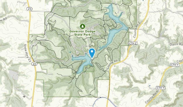 Pine Cliff State Natural Area Map