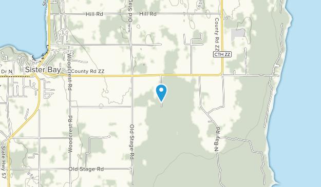 Harold C. Wilson Three Springs Preserve Map