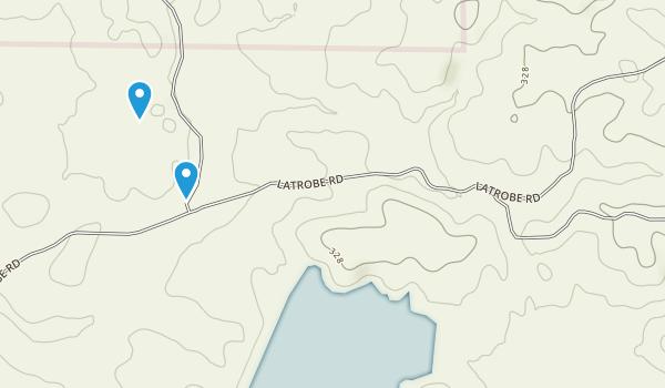 Deer Creek Hills Preserve Map