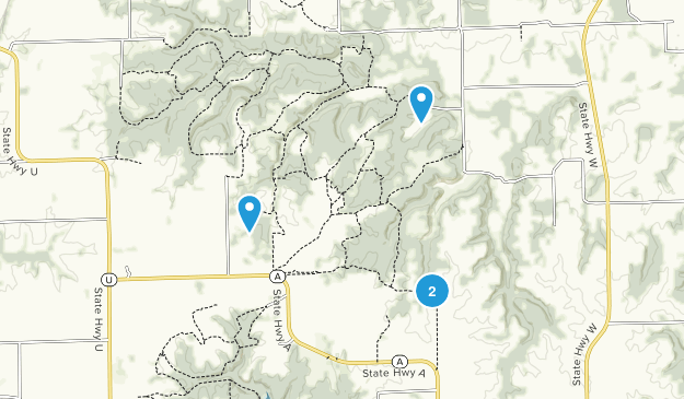 Poosey Conservation Area Map