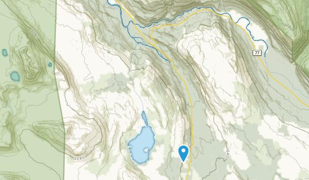 Saltfjellet-Svartisen nasjonalpark Map