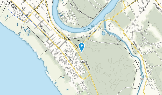 Pärnu Metsakalmistu Map