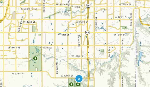 Overland Park Arboretum Map