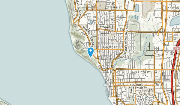 Marine View Park Map